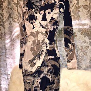 Jennifer Lopez Wrap Style Dress